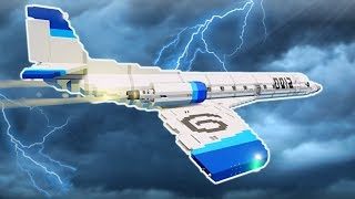 Download HAUNTED SUPERSONIC PLANE FLIES INTO STORM! - Stormworks Multiplayer Gameplay Video