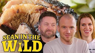 Download Rooster Teeth and Sean Evans Sample New York City BBQ | Sean in the Wild Video
