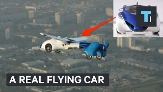 Download A real flying car Video