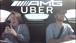 Download Picking Up UBER Riders In A Chrome AMG! *6 STAR RATING!* Video