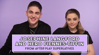 Download Hero Fiennes-Tiffin and Josephine Langford from 'After' Reveal Who's the Biggest Romantic and More Video