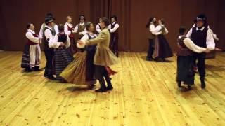Download Ratelinė polka (visoje Lietuvoje šokamas šokis) Video