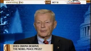 Download Morning Joe Zbigniew Brzezinski Obama Deserves Nobel Peace Prize 01 Video