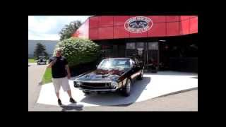 Download 1969 GT500 Shelby Mustang 428 Classic Muscle Car for Sale in MI Vanguard Motor Sales Video