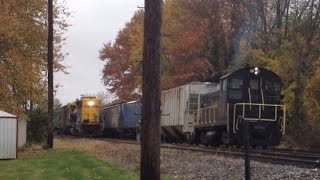Download Rain Problems Cincinnati East Terminal RY Switching Grain Spur Video
