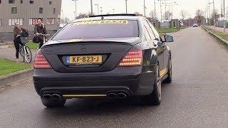 Download 'FAKE TAXI' Mercedes-Benz S63 AMG - REVS & ACCELERATIONS! Video