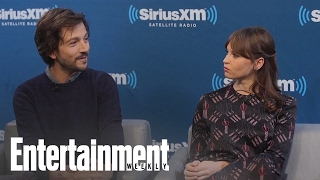 Download Rogue One: Felicity Jones & Diego Luna Name Their Favorite Star Wars Movie | Entertainment Weekly Video
