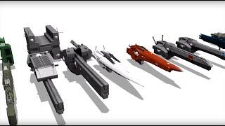 Download 銀河英雄伝説 艦艇サイズ比較 Legend of Galactic Heroes Ship sizes Video