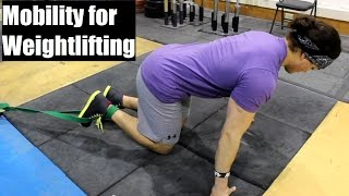 Download MOBILITY For Weightlifting: Ankle, Hip and Shoulder (The Basics) Video