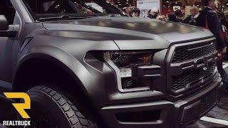 Download 2017 Ford Raptor Wide Body Matte Black SEMA 2016 Video