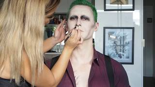 Download My Version of Suicide Squad Joker Special FX Make Up Tutorial Video