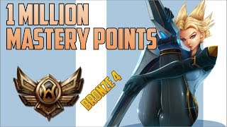 Download BRONZE 4 Camille 1,000,000 MASTERY POINTS- Spectate Highest Mastery Points on Camille Video