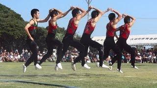 Download 2012鹿児島実業男子新体操部 Aチーム 屋外での演技 Rhythmic Gymnastics Video