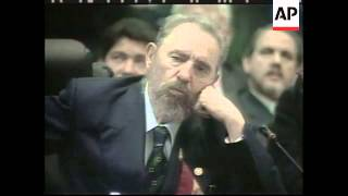 Download Panama: Castro And Flores Clash At Summit - 2000 Video