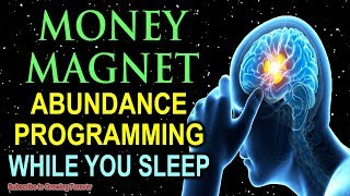 Download I AM A MONEY MAGNET ~ Sleep Programming Affirmations For Abundance And Wealth ~ Millionaire Mindset! Video