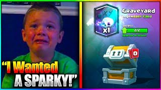 Download kid starts crying after getting worst legendary in clash royale Video