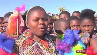 Download More than 50,000 Zulu maidens participate in Reed Dance Video
