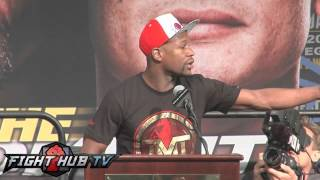 Download Floyd Mayweather vs. Marcos Maidana press conference video highlights Video