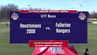 Download 2016 National League - Boys - U17 - Houstonians 2000 vs Fullerton Rangers - Field 3 - Day 3 - 2pm Video