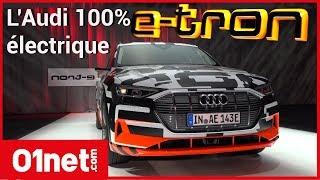 Download Audi e-tron Prototype, montez avec nous à bord du premier SUV 100% électrique d'Audi Video
