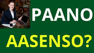 Download Paano Aasenso? Video