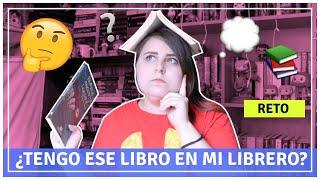 Download RETO ¿TENGO ESE LIBRO EN MI LIBRERO/ESTANTERÍA? 🤔📚 Video