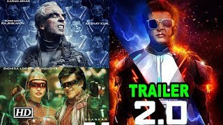 Download 2.0 TRAILER   Rajinikanth V/S Akshay Kumar Video