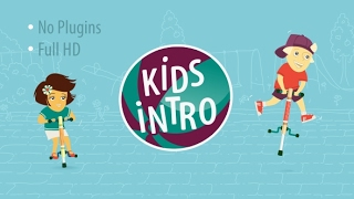 Download Kids Intro | After Effects template Video