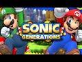 Download Sonic Generations - SUPER MARIO GENERATIONS Super Forms, Luigi, and Rival Battles! Video