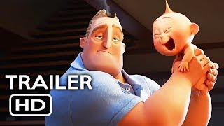 Download Incredibles 2 Official Trailer #1 (2018) Disney Pixar Animated Movie HD Video