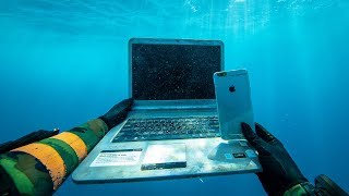 Download I Found an iPhone, Laptop and Secret Briefcase Under $1,000,000 Boats in Hawaii! (Scuba Diving) Video