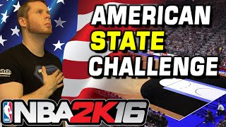 Download NBA 2K16 WHEEL OF STATE CHALLENGE! USA USA! Video