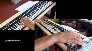 Download WIE COOL! Das Rollpiano oder auch Klavier zum Aufrollen genannt Video