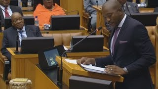 Download Mmusi Maimane exposes the ANC while Zuma watches Video