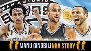Download Second Round Pick To A Spurs LEGEND! The Story of Manu Ginobili Video