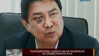Download 24 Oras: Reaksyon nina Ben, Erwin at Raffy Tulfo sa sinapit ng kanilang kuya, may tonong pagbabanta Video