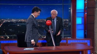 Download The Late Show Wheel Of News IV (with Bernie Sanders) Video