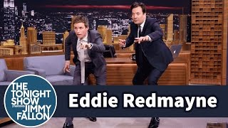 Download Eddie Redmayne Teaches Jimmy a Fantastic Beasts Mating Dance Video