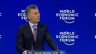 Download Special Address by Mauricio Macri, President of Argentina and Chair of the G20 Video