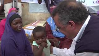 Download Witnessing the health challenges of displaced people in Borno, Nigeria Video