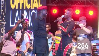 Download Bobi Wine and Jose Chameleone - People Power #Sabasabaconcert Video