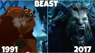 Download Beauty and the Beast 1991 vs 2017 Then and Now Video