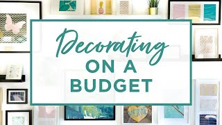 Download 7 Rules For Decorating Your Home On A Budget Video