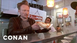Download Conan Makes NYC Pizza - CONAN on TBS Video