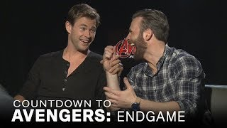 Download Chris Evans Jokes About Chris Hemsworth's 'Sexiest Man Alive' Title | Extended Video