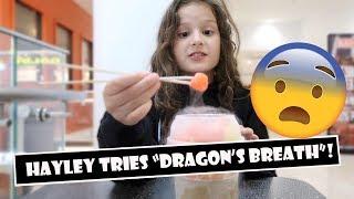 Download Hayley Tries ″Dragon's Breath″ 🐉 (WK 383.4)   Bratayley Video