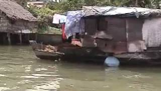 Download Vinh Long Town in the Mekong Delta of Vietnam Video