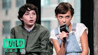 Download Cast of ″Stranger Things″ | BUILD Series Video