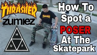 Download How To Spot A Poser At The Skatepark! Video