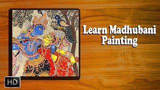 Download Learn How to Make Madhubani Painting - Madhubani Art - Basic Painting Techniques Video